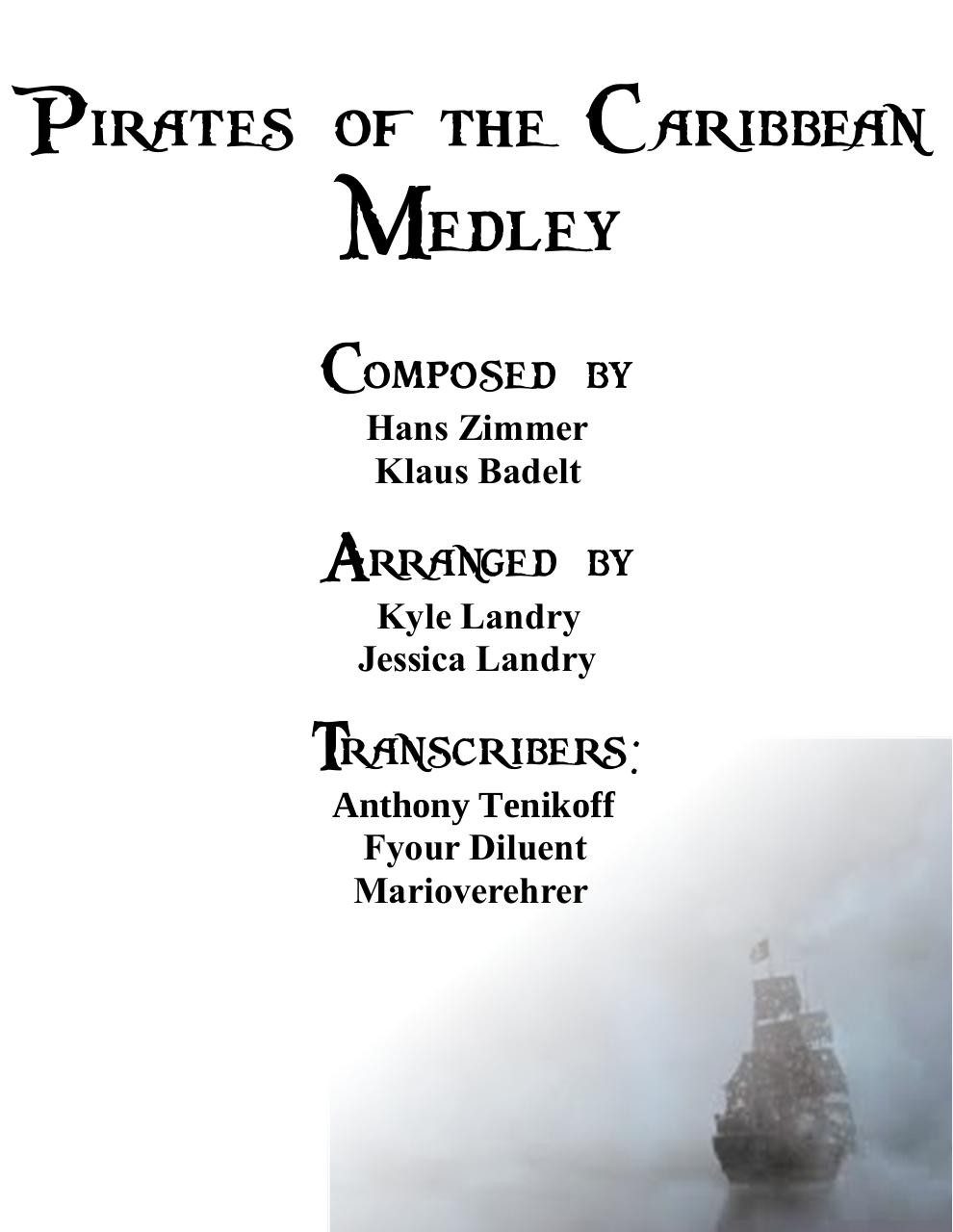 Pirates of the Caribbean Medley.pdf - page 1/23