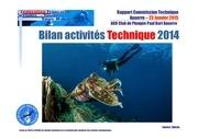 bilan des actions technique cppb 2014