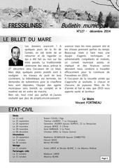 bulletin municipal fresselines decembre 2014