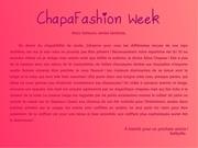 chapafashion week