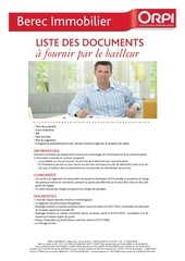 liste docs bailleur