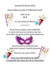 menu des gras 2015