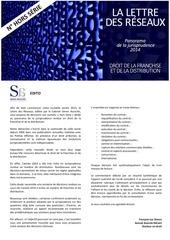 panorama de la jurisprudence 2014