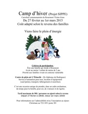 poster camp dhiver 15