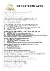 Fichier PDF honky tonk life