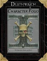 deathwatch character folio