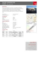 Fichier PDF fiche commerciale eaunes