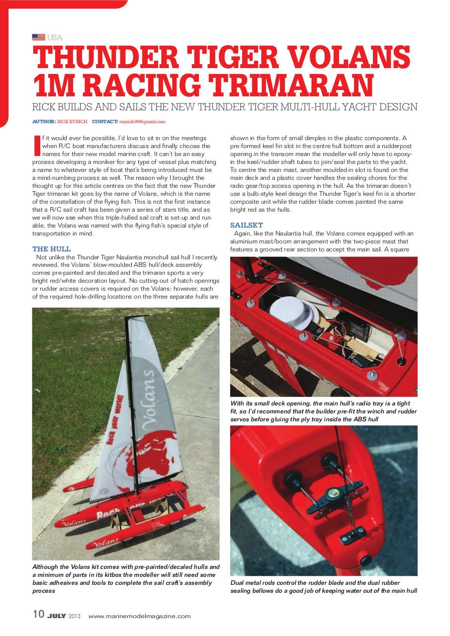 Marine_Modelling_Int_2013-07_THUNDER_TIGER_VOLANS.pdf - page 1/4