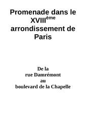 Fichier PDF promenade dans paris 18eme depart rue damremont