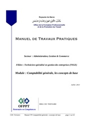 comptabilite generale concepts base mtp tsge