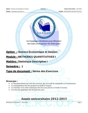 exercices statistiques 2