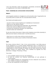offre stage communication iut2grenoble