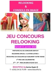 affiche a4 jeu concours relooking el ritmo latino 150131