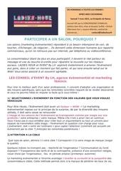 Fichier PDF salon