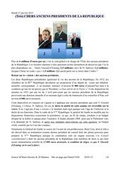 Fichier PDF chers anciens presidents de la republique
