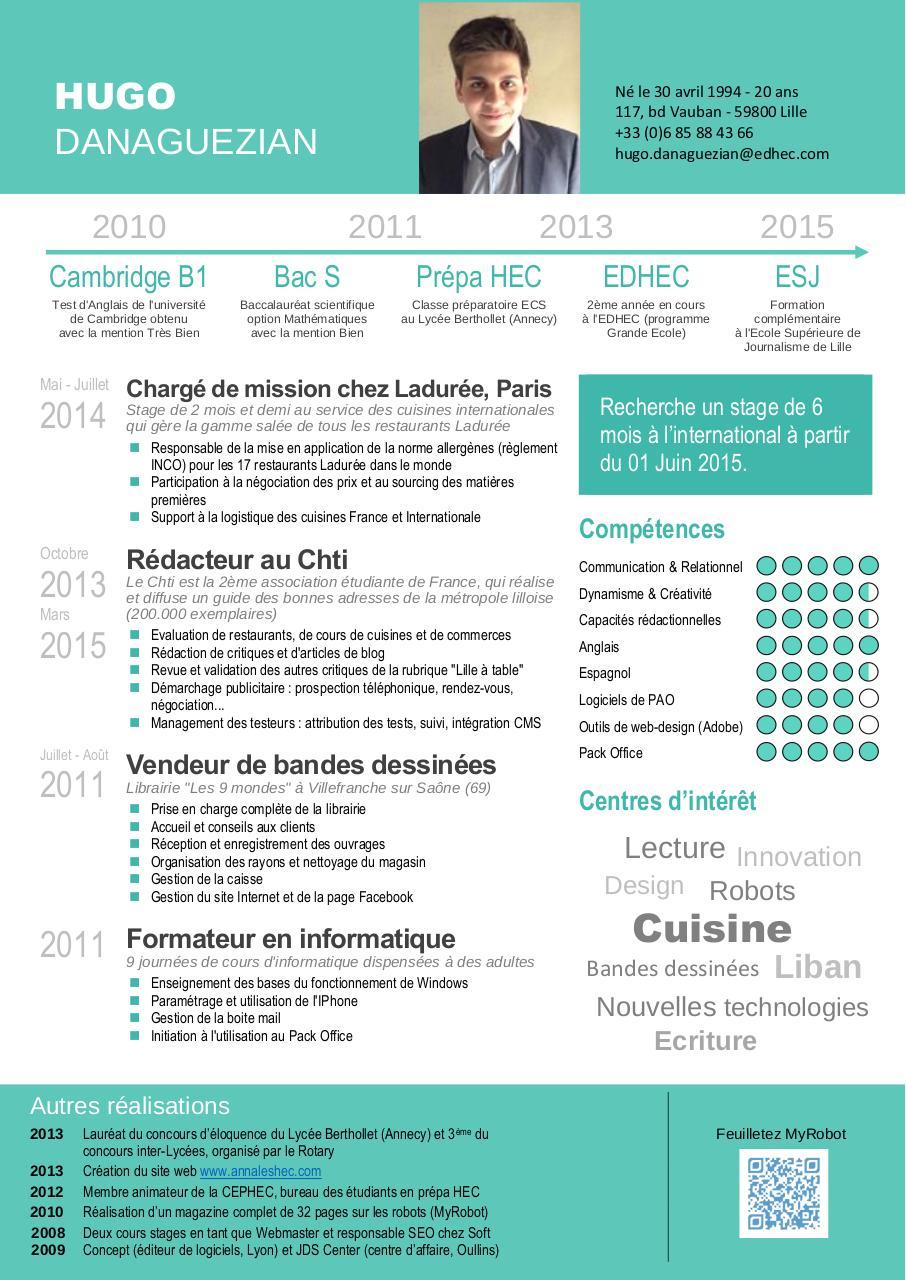 cv hugodanaguezian internet v2015 par hugo danaguezian