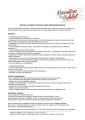 Fichier PDF annonce recrutement 2