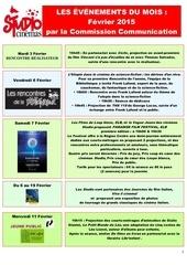 Fichier PDF les evenements du mois fevrier 2015