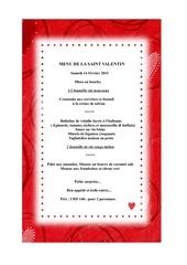 menusaintvalentin2015papier