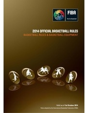 Fichier PDF official basketball rules 2014 y