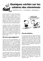 tract salaires