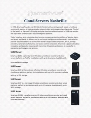 cloud servers nashville