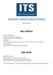 Fichier PDF dossier presse publicite