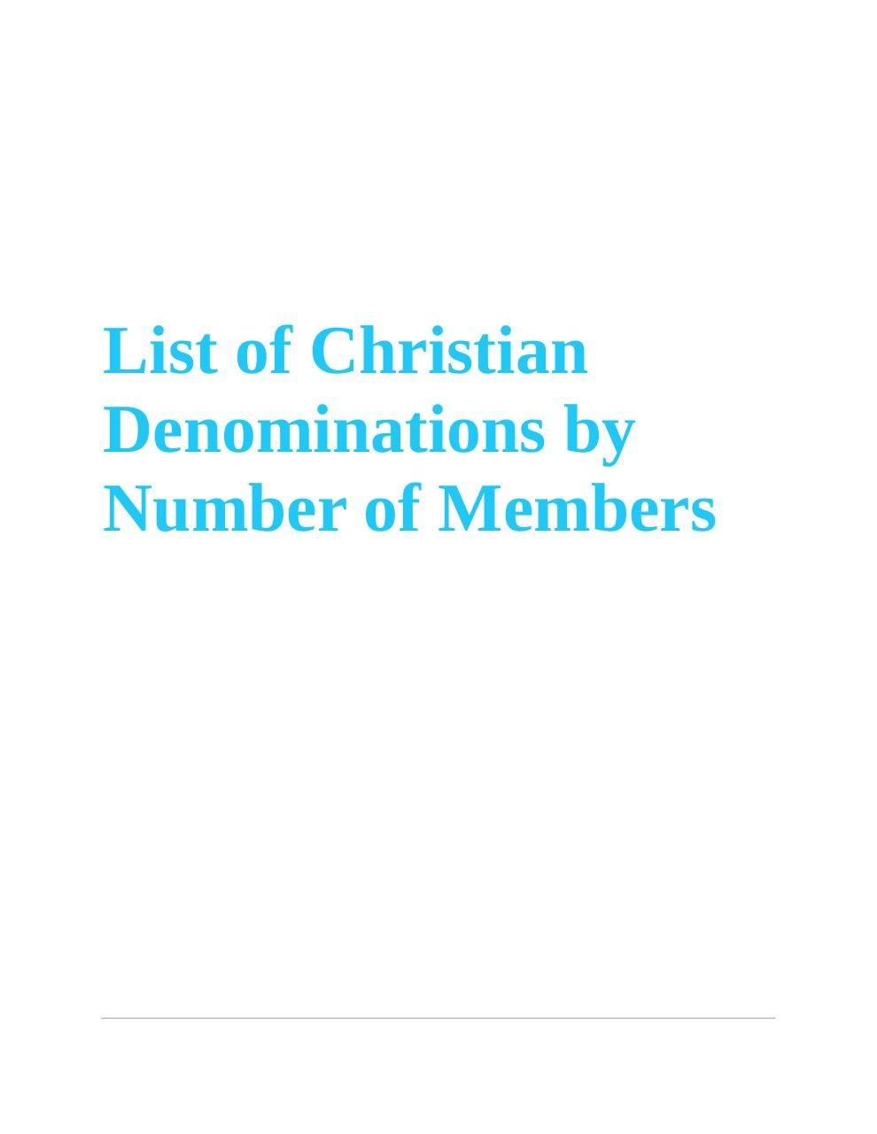 Aperçu du document List of Christian denominations by number of members4.pdf - page 1/16