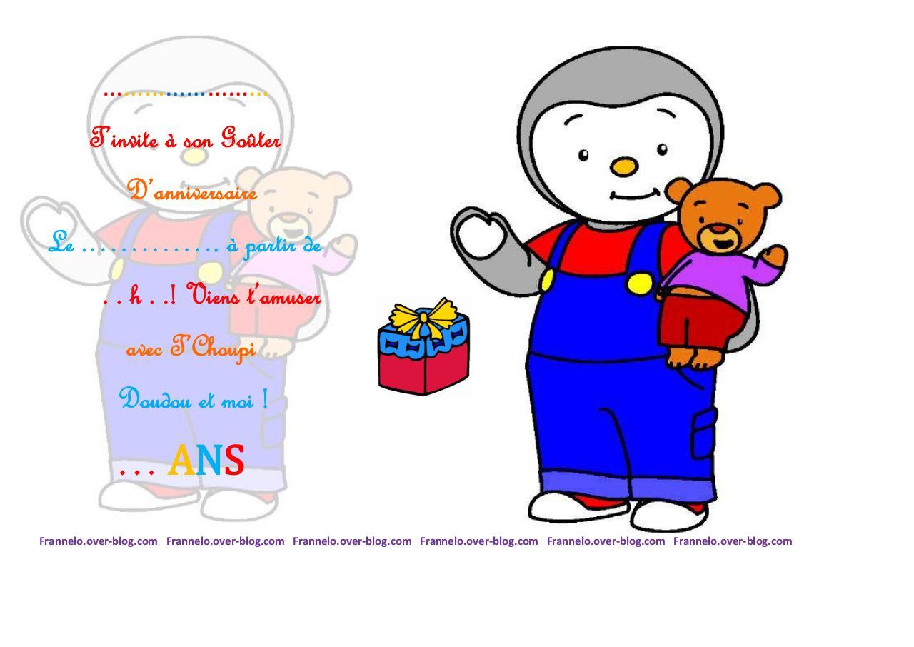 Tchoupi invitation anniv pdf par elodie fichier pdf - Tchoupi et doudou telecharger ...