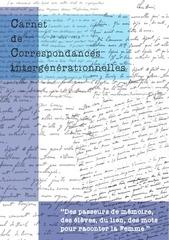 carnet de correspondances intergenerationnelles