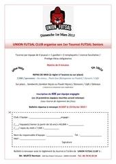 fiche d inscription union tournoi futsal 1