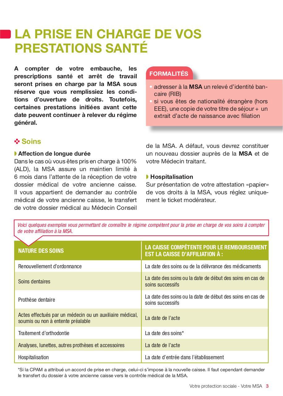 359 Livret A5 Votre Protection Sociale V2 Indd Livret D Accueil
