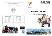 programme hiver 2015