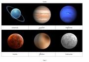 cartes du systeme solaire