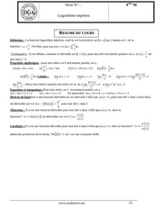 logarithme avec correction