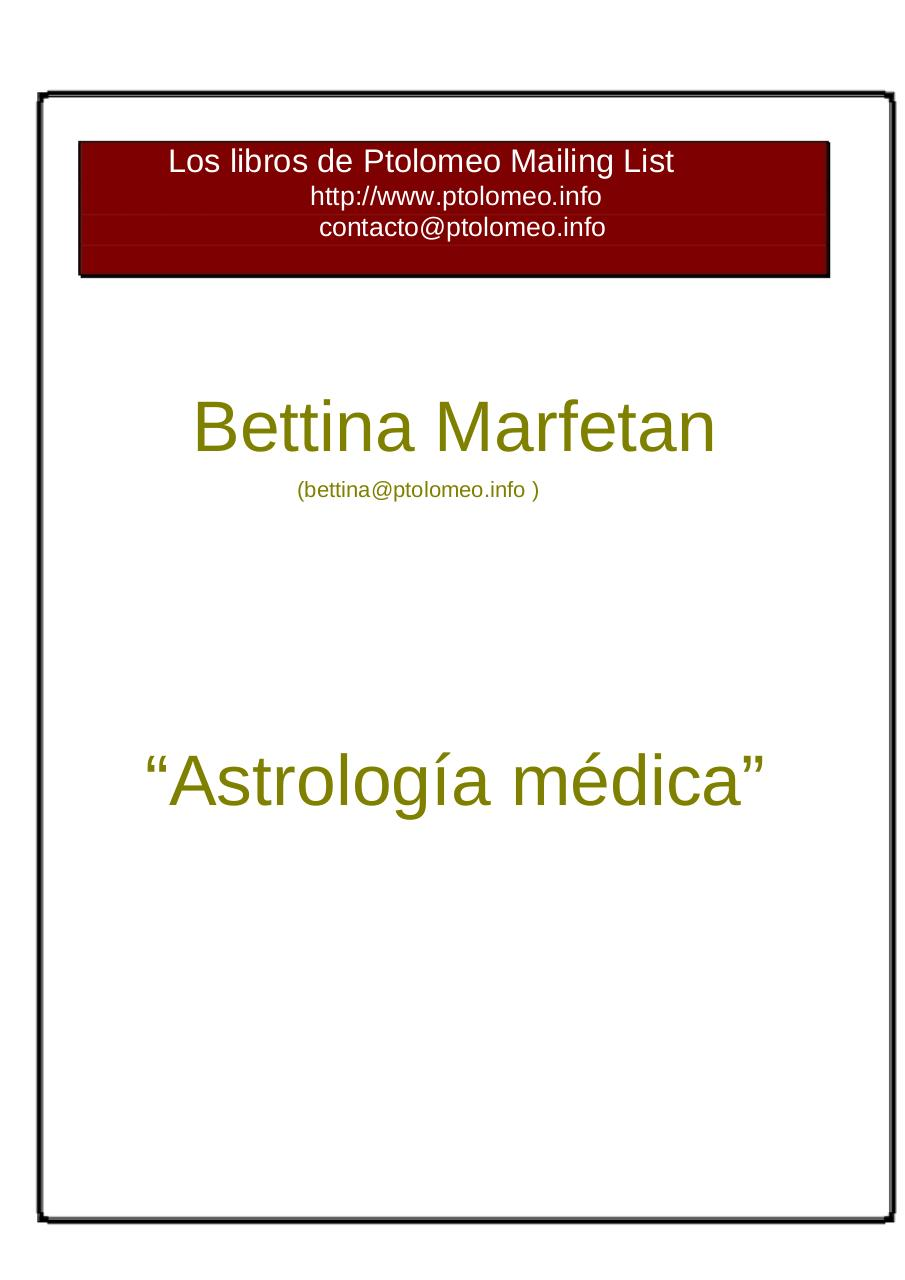 ASTROLOGIA MEDICA.pdf - page 1/13