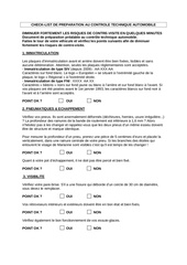 Fichier PDF check list preparation controle technique