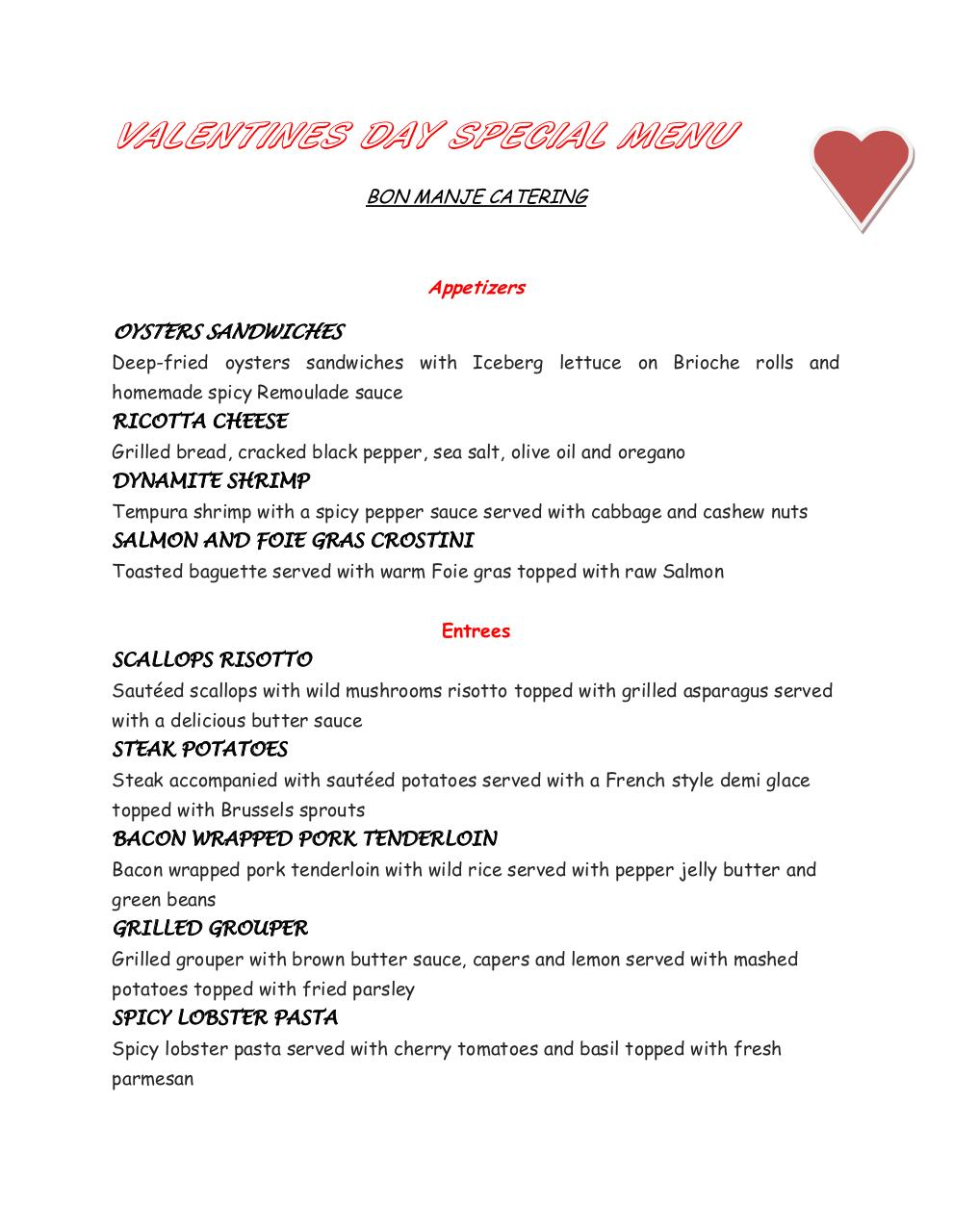 VALENTINES DAY SPECIAL MENU.pdf - page 1/2