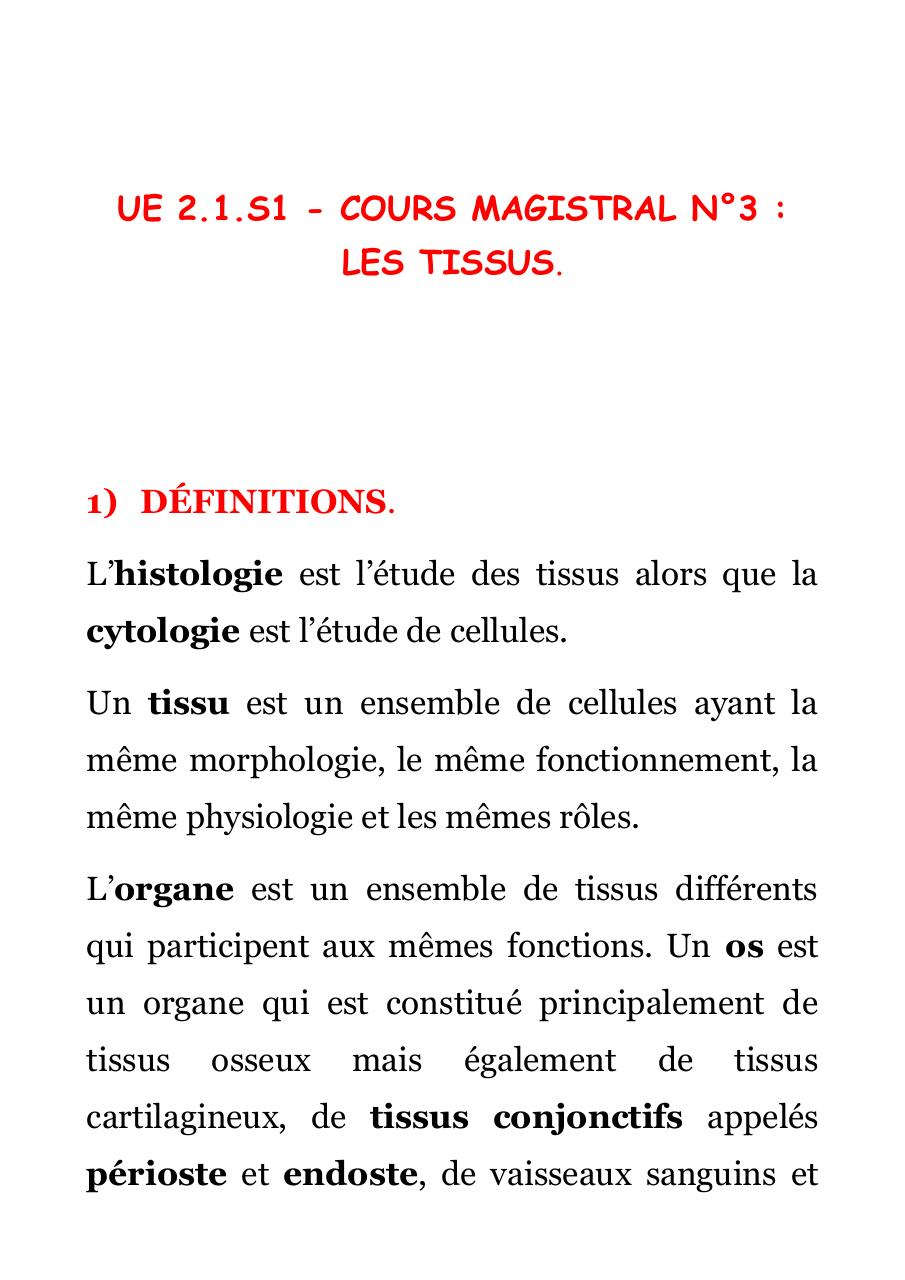 [BIO 211] COURS MAGISTRAL N°3.pdf - page 1/22