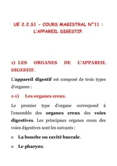 bio 221 cours magistral n 11