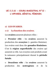 bio 221 cours magistral n 12