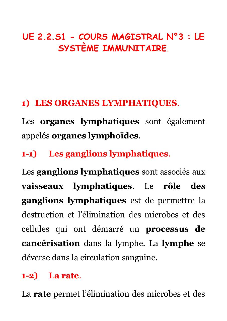 [BIO 221] COURS MAGISTRAL N°3.pdf - page 1/22