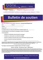 Fichier PDF bulletin de soutien
