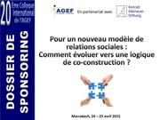dossier sponsoring colloque agef 2015