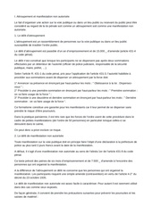 Fichier PDF lois rassemblement