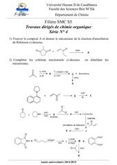 td 4 s5 chimie organique modif 2014 2015