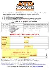 v1 bulletin adhesion atd racers club 2015 uk