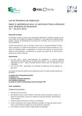 Fichier PDF appel a candidatures entretiens de malbrouck