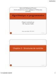 info chapitre3 structures de controle