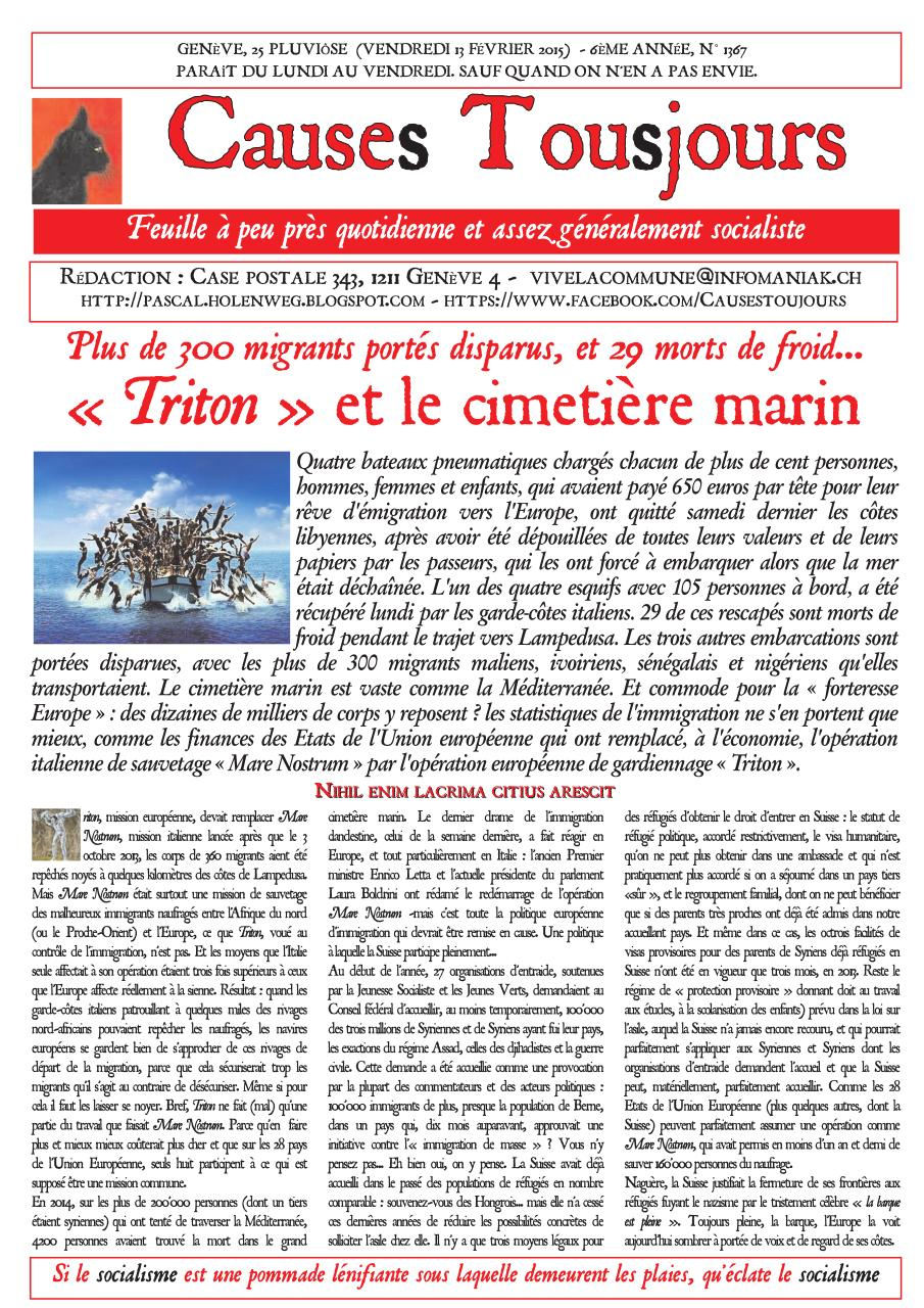 Aperçu du document Newsletter1367.pdf - page 1/2